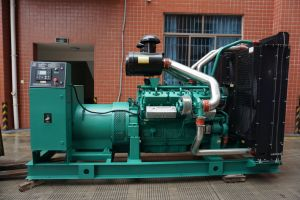 Le premier générateur de sortie de Ricardo Tad40 400kw/500kVA Groupe électrogène Diesel