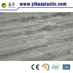목제 디자인 Spc WPC PVC 비닐 플라스틱 Vspc 지면 마루