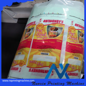 4 цветных Nuoxin/6 цвет цвет Flexography механизма печати