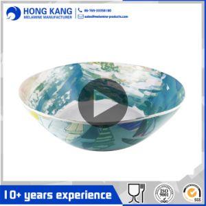Commerce de gros bol à mélanger de mélamine en plastique Vaisselle