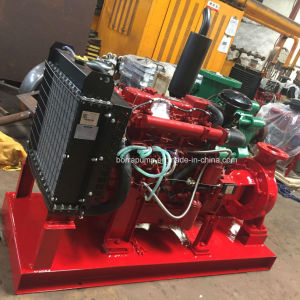 Pompa ad acqua automatica di lotta antincendio del motore diesel di aspirazione di conclusione