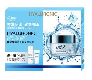 Hyaluronic Zure Bevochtigende GezichtsRoom van de Zorg van de Huid van de Room Aqua