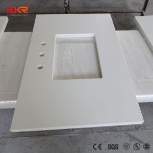 Настраиваемые ослепительно белый/ Marble-Like ванная комната на крышах в левом противосолнечном козырьке