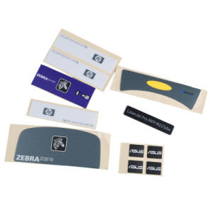 Papel timbrado personalizado e a impressão de etiquetas autocolantes de plástico