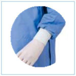 Vestiario di protezione professionale per i chirurghi con la barriera antistatica ed i fogli Cuffed