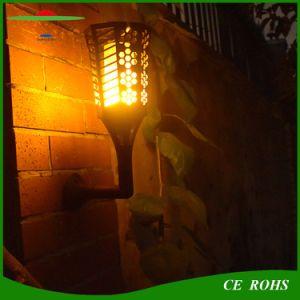 Baile de la luz solar iluminación LED llama 96el parpadeo de la luz de exterior
