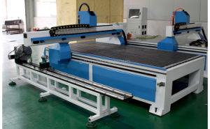 MDF acrílico de la Carpintería de PVC de 4 ejes 1325 Router CNC Máquina de grabado con el eje de rotación independientes