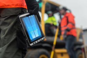 9.7 Zoll militärische schroffe LCD-Monitoren