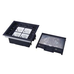 Piso falso piso de acceso al sistema de Trunking Socket/cajas de suelo