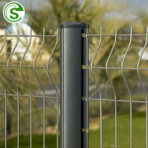 6FT decoración verde de malla de alambre recubierto de PVC Nylofor valla de 3D para la venta