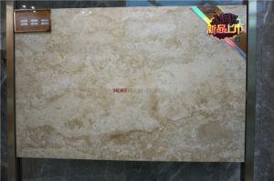 De Ceramische en Porselein Verglaasde van de Vloer Tegel van de opgepoetste van Egypte Steen van de Travertijn Marmeren