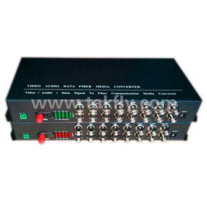 16 canais única fibra óptica Digital Video Converter