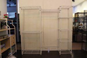 Dormitorio Almirah Metal Diseño Racks ropa para el hogar Almacenamiento/Armario de acero