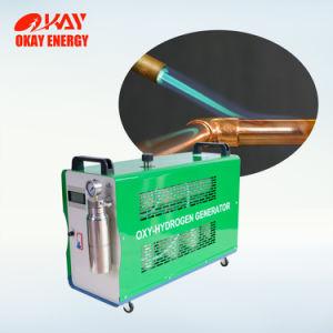 金管楽器の電動機の修理工場のブレイズ溶接機械