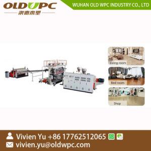 De plastic Machine van de Bevloering van de Steen van SPC van de Lopende band van de Vloer van de Koppeling