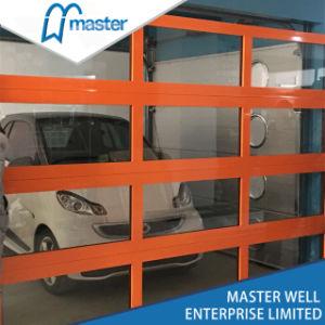 Vetro di alluminio libero trasparente commerciale industriale del blocco per grafici & portello sezionale del garage di Plycarbonate