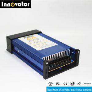 Cc12V 400W de luz LED de exterior Fuente de alimentación de conmutación Rainproof