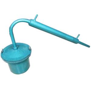 Distillatore facile del Mercury del separatore dell'amalgama della macchina di raffinamento dell'oro di funzionamento