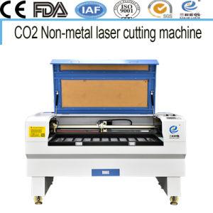 Scherpe Machine van de acryl/Laser van Stoffen de Houten Co2 Gevoelde