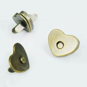 Botão do magneto para sacos de couro