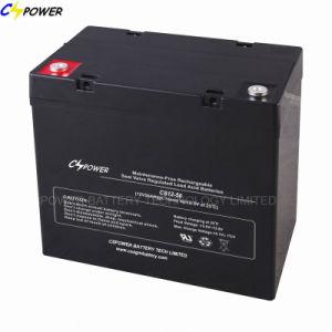 Cella acida al piombo del AGM della batteria 12V55ah Djm12-55ah dell'UPS