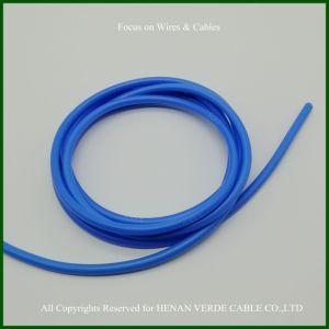 Personalizado tamanho diferente Super Flexível Cabo de borracha de alta temperatura do fio de Silicone