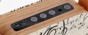 Мини-портативный беспроводной связи Bluetooth из клена звук динамиков