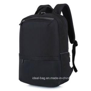カスタム方法キャンバス15のインチのラップトップUSBの屋外スポーツの余暇旅行学校のコンピュータの肩のバックパックの卸売