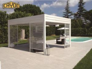 Jardín de aluminio resistente al agua motorizado Pérgola Gazebo