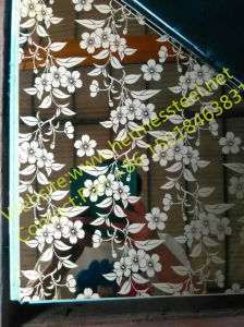 SUS 201 Decorativeのための304 316 Colour Mirror Etched Stainless Steel Sheet