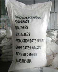 Rang van uitstekende kwaliteit van het Voedsel van het Bicarbonaat van het Ammonium 99.5%