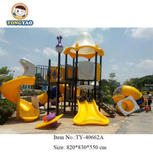 Fábrica Tongyao comercial de plástico coloridas Piscina Deslize Parque Infantil (TY-40662)