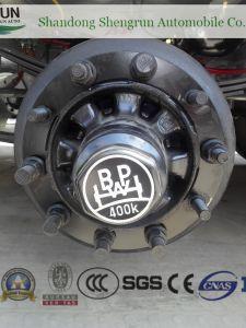 Wasser-LKW 50000 Liter Kraftstofftank-halb Schlussteil-