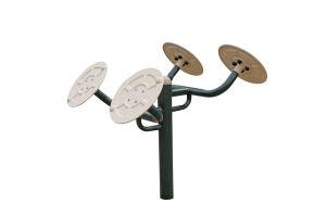 Equipamiento de gimnasio al aire libre para la salud formador de hombro