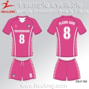 Healong ropa deportiva de fútbol personalizadas Impresión por sublimación  de desgaste de la camiseta de fútbol 35e6e89e47147