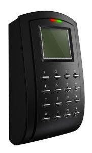 Черный RFID считыватель (RF103) с клавиатурой и ЖК