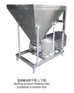 채우기 Product Feeding Rotor Pump (Top, 밖으로 안으로 Bottom)를