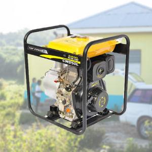 3 pulg./3 /80mm de un cilindro de 6 HP diesel de cuatro tiempos de la bomba de agua