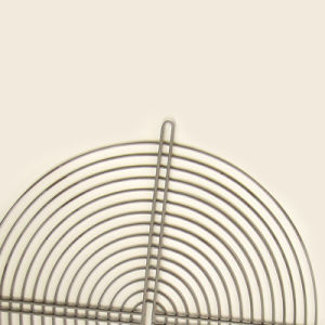 Grillage de métal à bas prix sur le fil grille avec revêtement en poudre