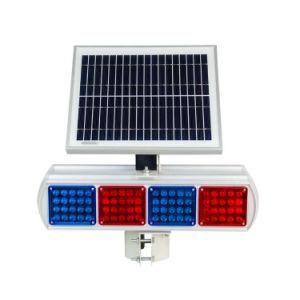 太陽バリケードの警報灯オートバイLEDの