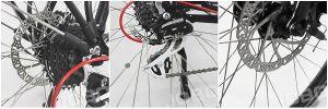 ناقل شخصيّة كهربائيّة مدينة درّاجة مع [بروشلسّ] [بفنغ] محرّك ([جب-تد26ل])