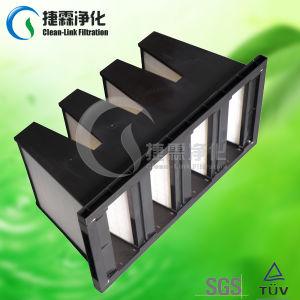 W de v-Bank van het Type de Grote Filter van de Stroom van de Lucht HEPA