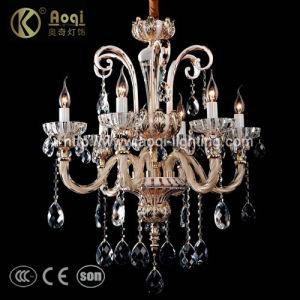 Luxuxglasgefäß-Kristallleuchter für Innen (AQ8056-6)
