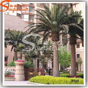 Venda a quente Data Artificial decorativos exteriores Árvore de plantas da Palm