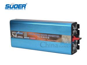 Suoer DC 12V a 220V AC 3000W Onda senoidal pura inversor (FPC-3000A)