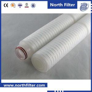 Plegado de alto rendimiento de cartucho de filtro de agua para la filtración de agua