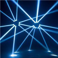 9つの目LEDのくものMoingのヘッドビーム段階のディスコライト