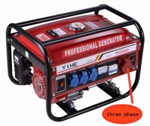 2.0kw Three Phase 380V 50Hz 4-Stroke Petrol Gasoline Generator