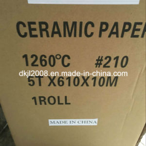 Высокая обедненной смеси огнеупорные керамические волокна бумаги для промышленности Теплоизоляция