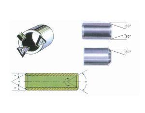 工場価格のDJ-120携帯用管の溝を彫る機械